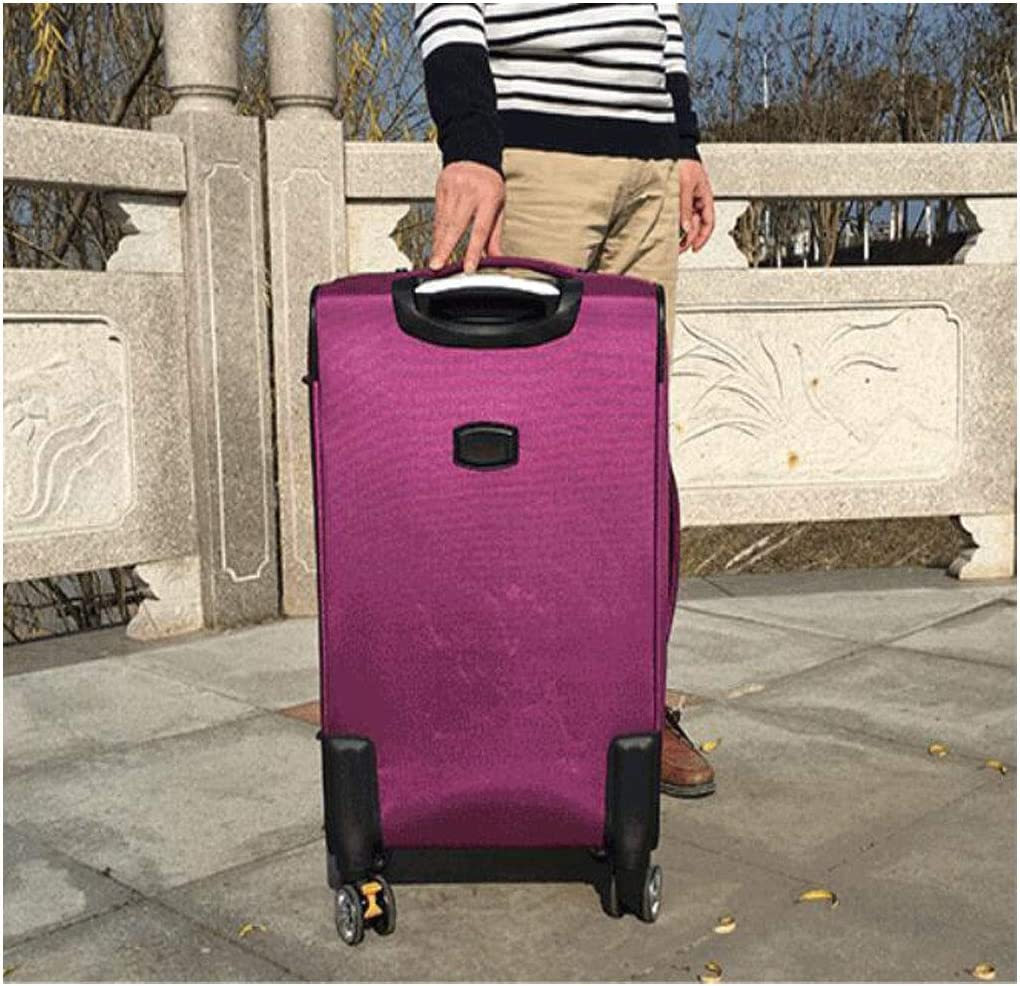 Black Color : Black, Size : 161227 inch Aishanghuayi Suitcase for Casual Lightweight wear-Resistant encrypted Waterproof Oxford Cloth Suitcase 35 24 57 cm Blue Size
