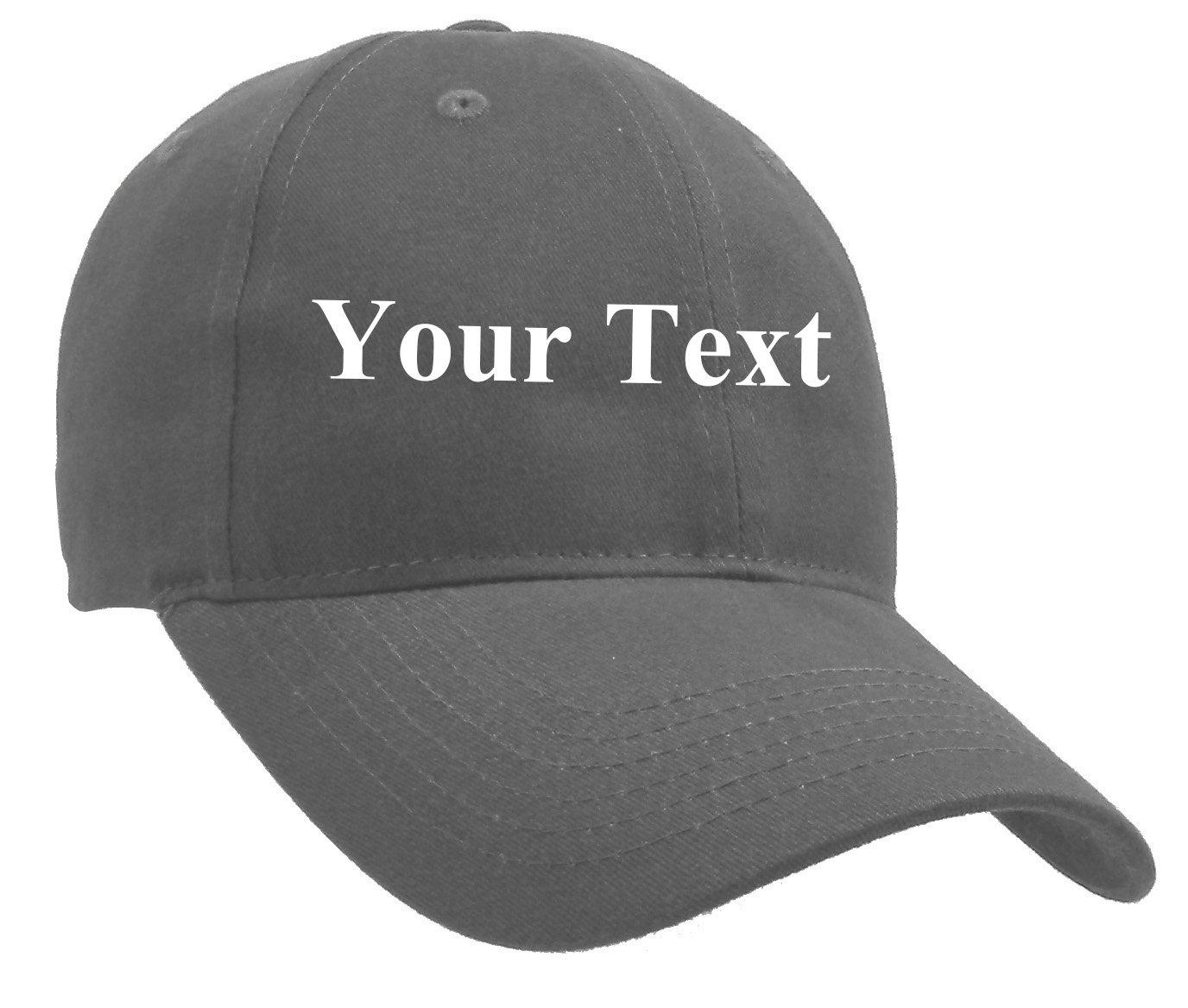 Classic Custom Personalized Adjustable Men's and Women's Cotton Baseball Cap