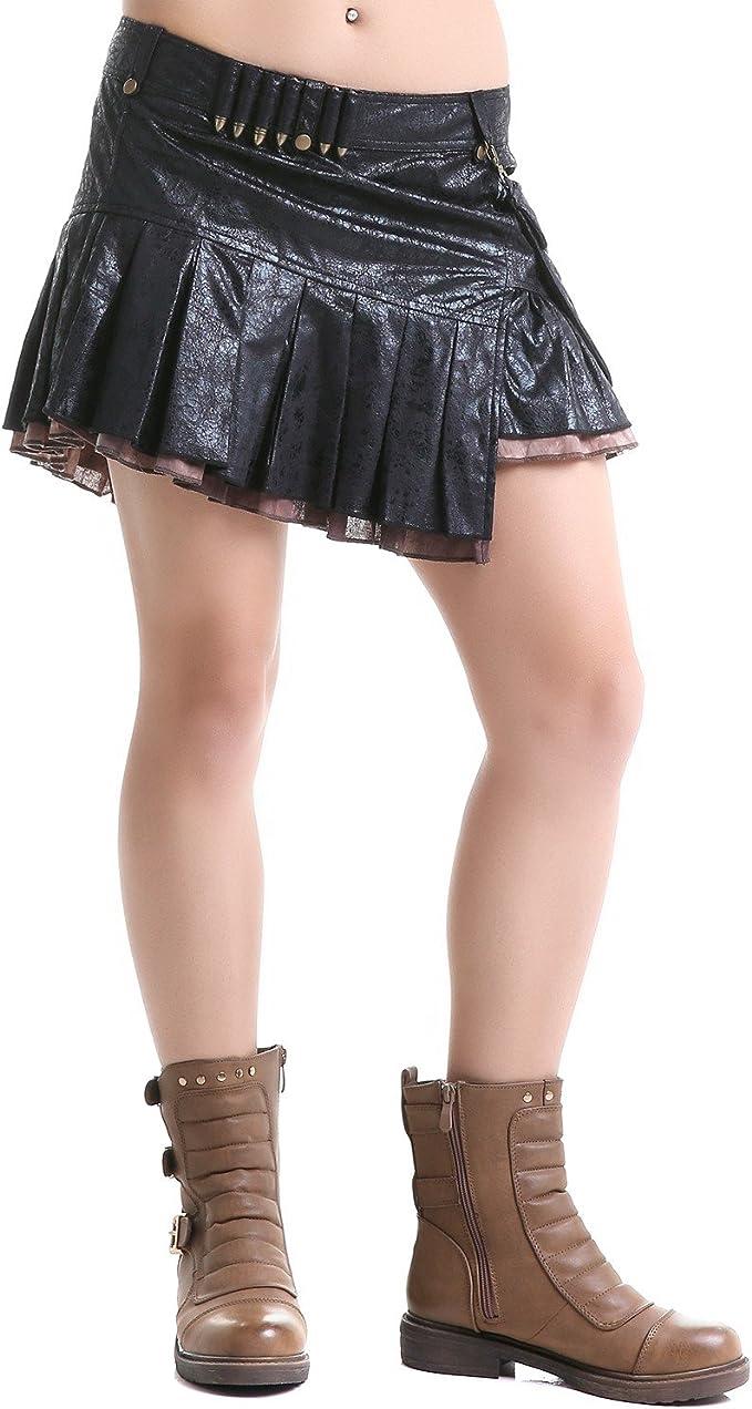 Mini falda con pelotas negro Small : Amazon.es: Ropa y accesorios