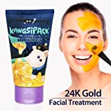Elizavecca Milky Piggy Kangsi Pack Wrinkle care Deep Cleansing 24K Gold Facial Mask. Anti Aging, Pore Minimizing, Blackhead removing, Moisturizing and Brightening Facial Treatment