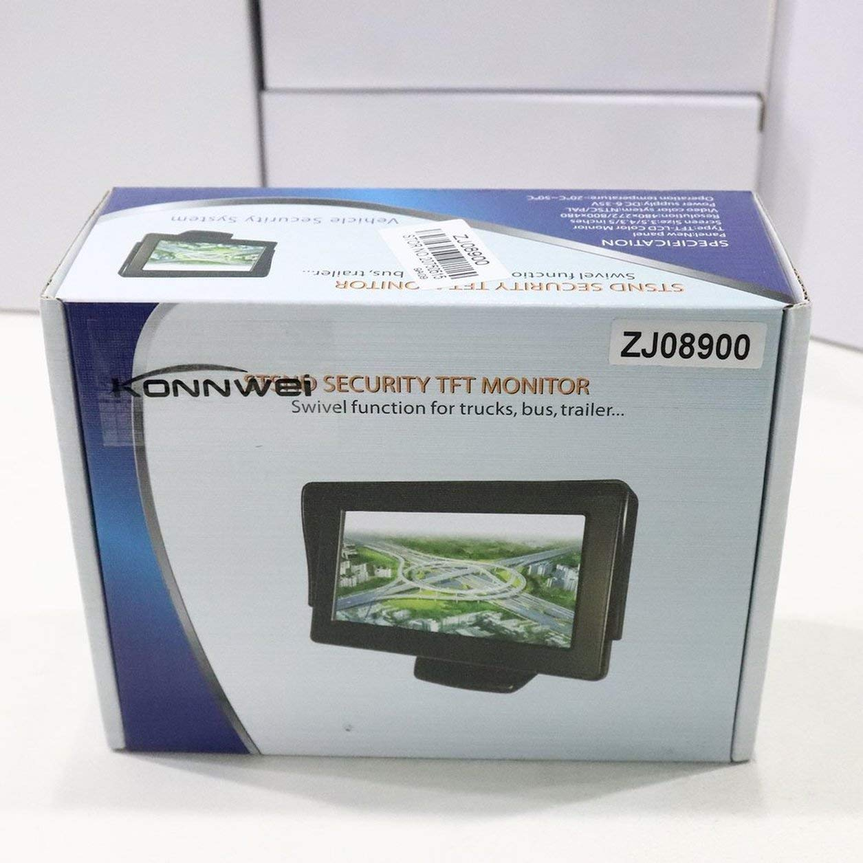 272 Car TFT LCD Monitor Screen 2ch Video Reverse Camera New 5 480