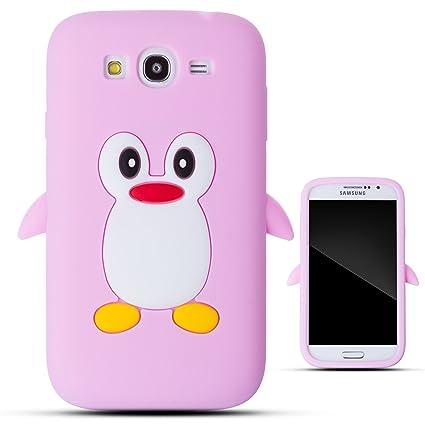 Amazon.com: Zooky® rosa silicona pingüino funda/carcasa ...