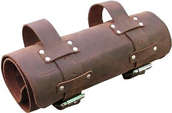 Leder Werkzeug Rolle Motorrad Tasche Für Triumph Enfield Und Harley Oder Werkstatt Von One Leaf Silber Hardware Auto