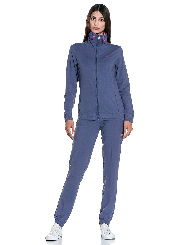 Puma Chándal Sport Style Jersey Suit Morado/Ciclamen S: Amazon.es ...