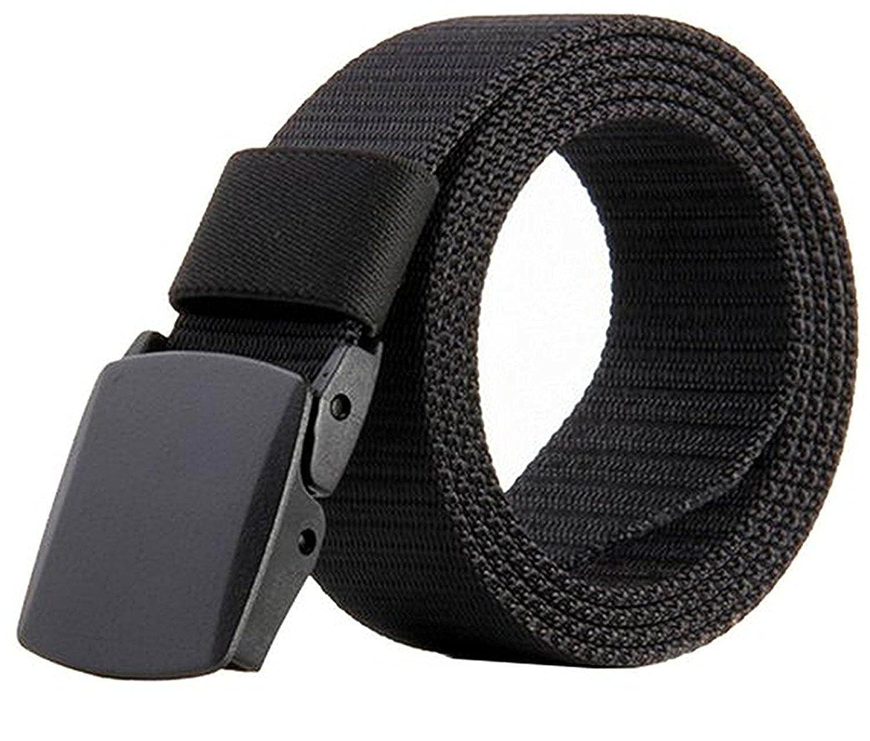 76f5b7c9a JasGood Nylon Canvas Breathable Military Tactical Men Waist Belt With  Plastic Buckle