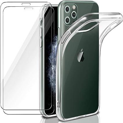 EasyAcc Custodia iPhone 11 PRO Max Cover + Pellicola in Vetro