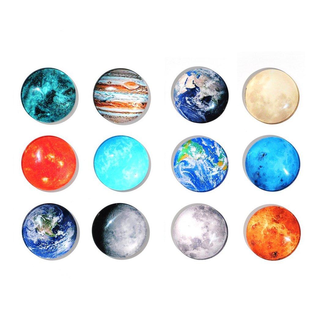 Home Decoraci/ón /Frigor/ífico Imanes/ Arts /& Crafts tarjeta Dry Erase Board Imanes Oficina Organizar frigor/ífico Imanes para pizarra /Oficina Juego de imanes 12/Planetary/