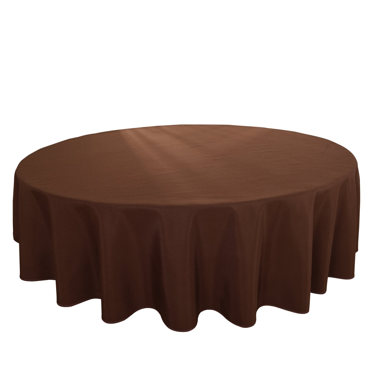 HIGHFLY Linen Round Tablecloth 90 inch Waterproof Coffee Tablecloth Wedding Party Restaurant