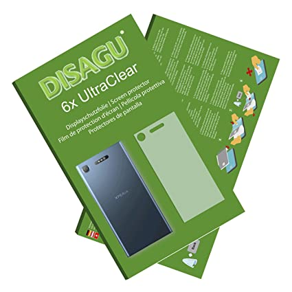 Amazon.com: DISAGU 6X Ultra Clear Screen Protector for Sony ...