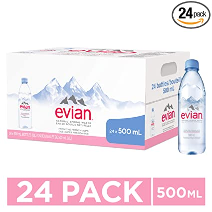Agua purificada Evian: Amazon.com: Grocery & Gourmet Food