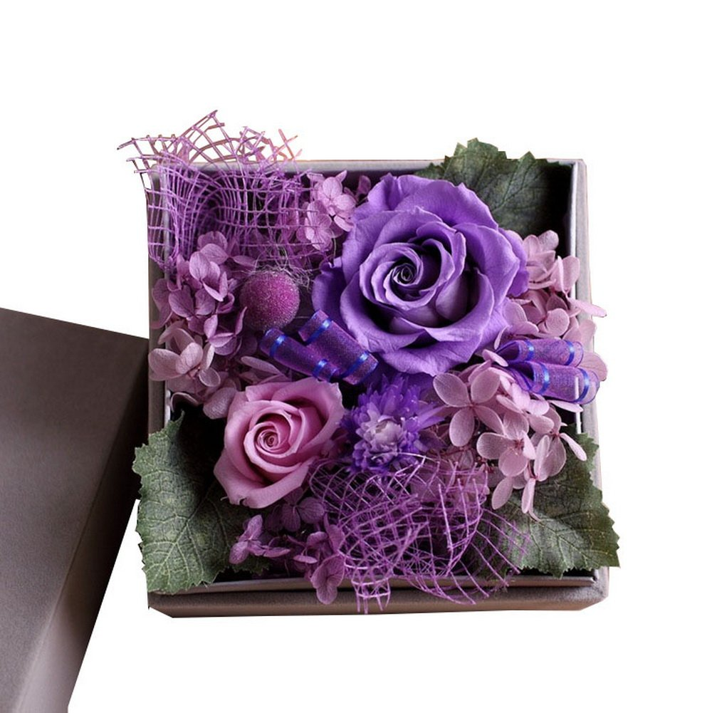 Never Withered Roses, Rose Flower Freshness Gift Ideas Imported Flower Delivery Mother Girlfriend Girlfriends Gift Crazy Cart