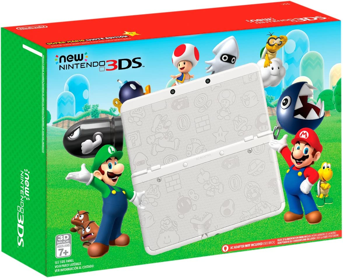 Amazon.com: Nintendo New 3DS - Super Mario White Edition ...