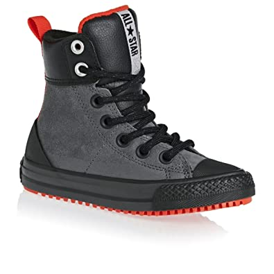 005aee39364af3 ... canada amazon converse kids chuck taylor all star asphalt boot thunder  signal red black sneakers b5c0b