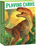 Peaceable Kingdom Dinosaurs Playing Card Deck 52 Cards plus 2 Jokers Box