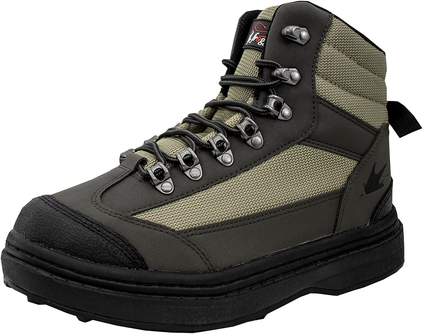 FROGG TOGGS Men's Hellbender Fishing Wading Boot, Cleated Outsole : Clothing