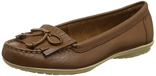 Hush Puppies Ceil, Mocasines para Mujer, Marrón (Tan), 36 EU (