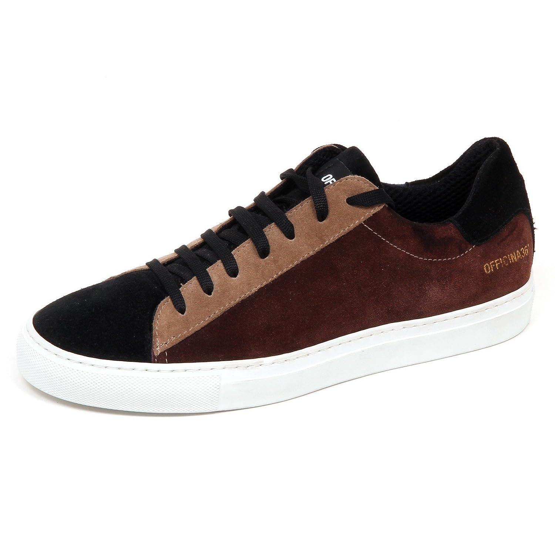 E2846 Sneaker Uomo OFFICINA 36 Scarpe Suede Shoe Man 42 EU|Multicolor