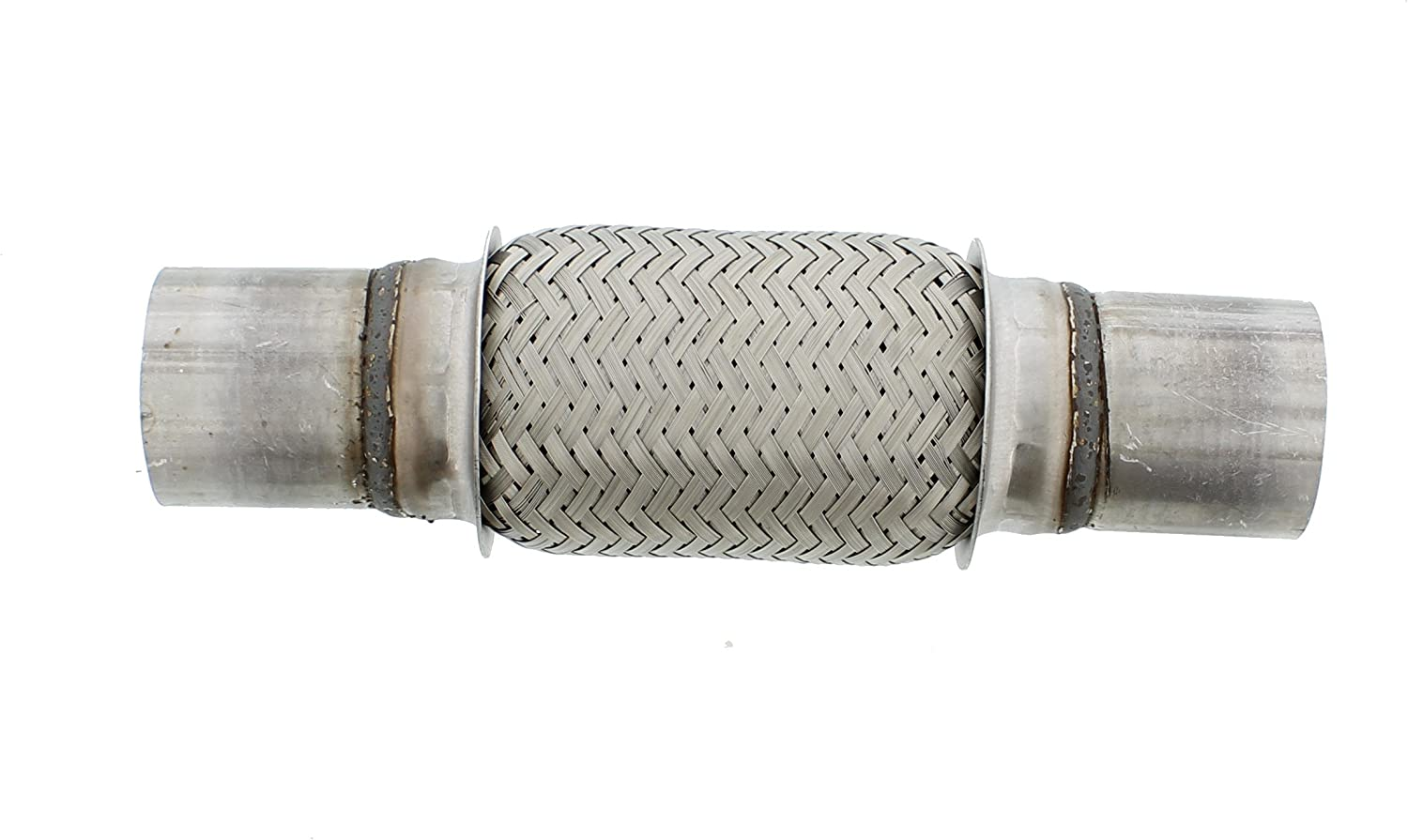 flexible exhaust pipe flexible repair woven wire stainless all models 2 inch