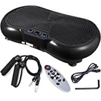 Yescom 3500W Vibration Plate Crazy Fit Massage Exercise Machine Oscillating Platform Black