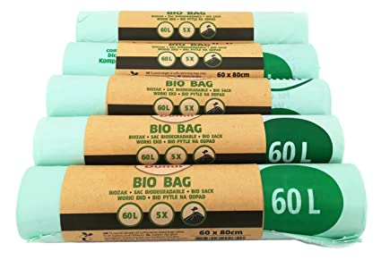 Bolsa Dumil para basura orgánica, verde, 60 Liter 25 Stück ...