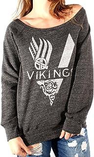 MUSH Felpa Fashion Vikings Serie TV Logo - Film by Dress Your Style