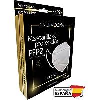 Mascarillas FFP2 blancas homologadas y fabricadas en España CE 2797, filtrado de 5 capas - GrupoZona - Mascarilla ffp2…