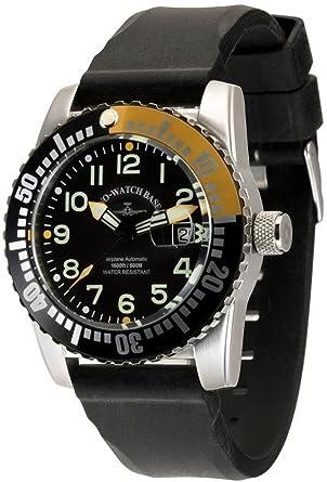 Analog Mit Automatik Silikon Zeno Armband Herren Basel Watch Uhr roeCxdWB