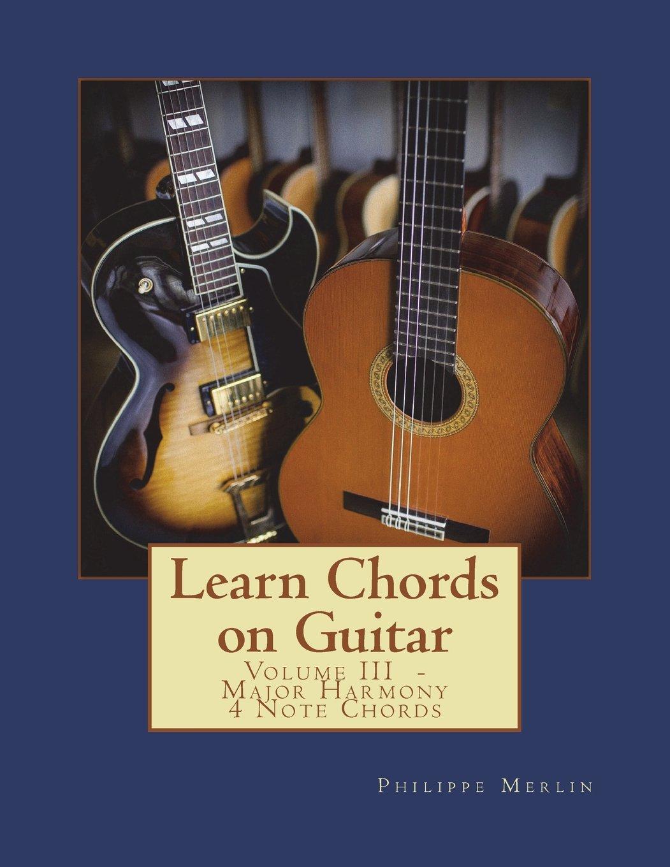 Amazon Learn Chords On Guitar Volume Iii Major Harmony 4