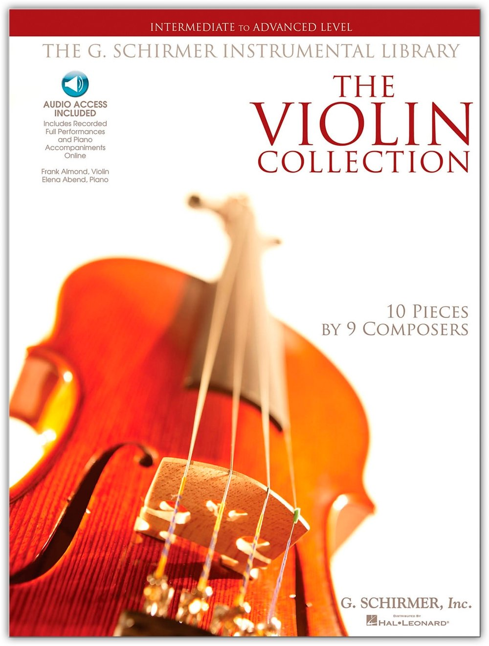 Amazon.com: G. Schirmer The Violin Collection - Intermediate To Advanced  Violin / Piano G. Schirmer Instr Library (0884088009809): G. Schirmer: Books