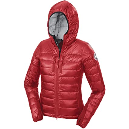 canada goose red jacket womens