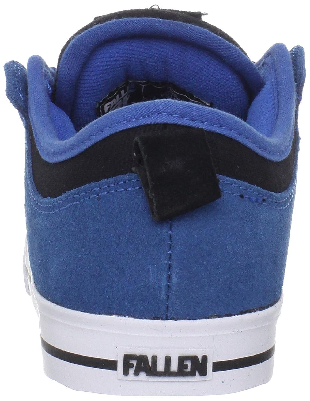 Fallen CLIPPER Youth 43070010 - Zapatillas de skate de ante para niños, Azul (Blau (Royal/Black)), 32