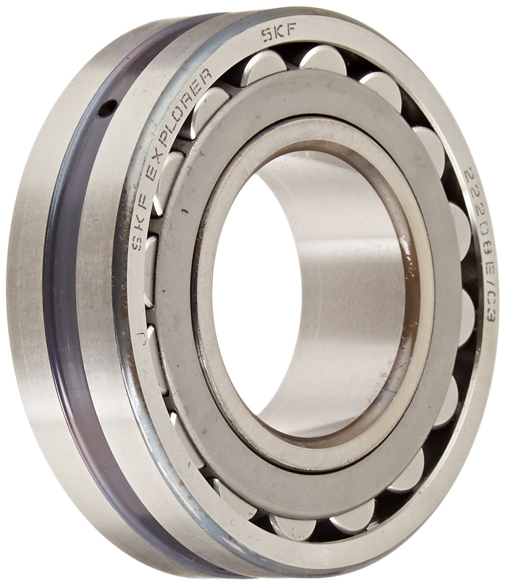70mm Bore 51300lbf Static Load Capacity 4300rpm Maximum Rotational Speed Steel Cage Removable Inner Ring 46100lbf Dynamic Load Capacity Flanged 150mm OD High Capacity 35mm Width Metric SKF NJ 314 ECJ Cylindrical Roller Bearing