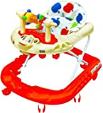 Truphe Truphe Baby Walker With Music (Red)