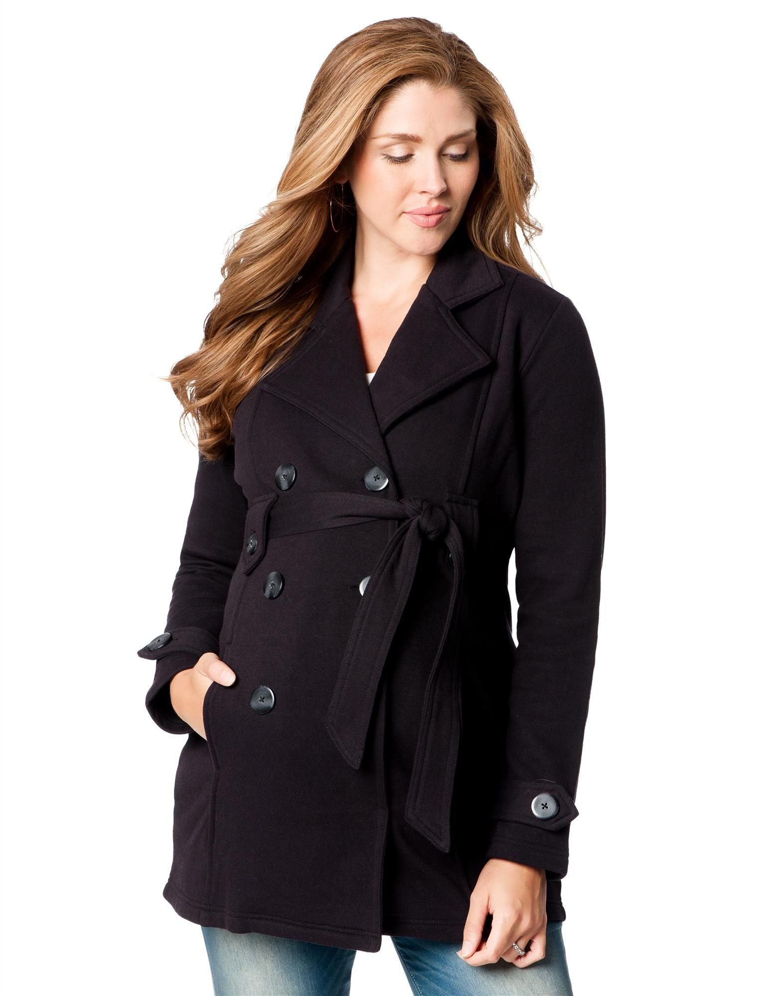 Motherhood Maternity Peacoat