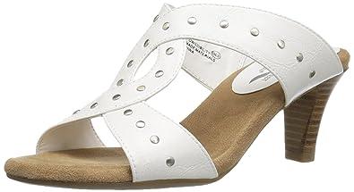 A2 by Aerosoles Women's Powssibility Slide Sandal, White, ...
