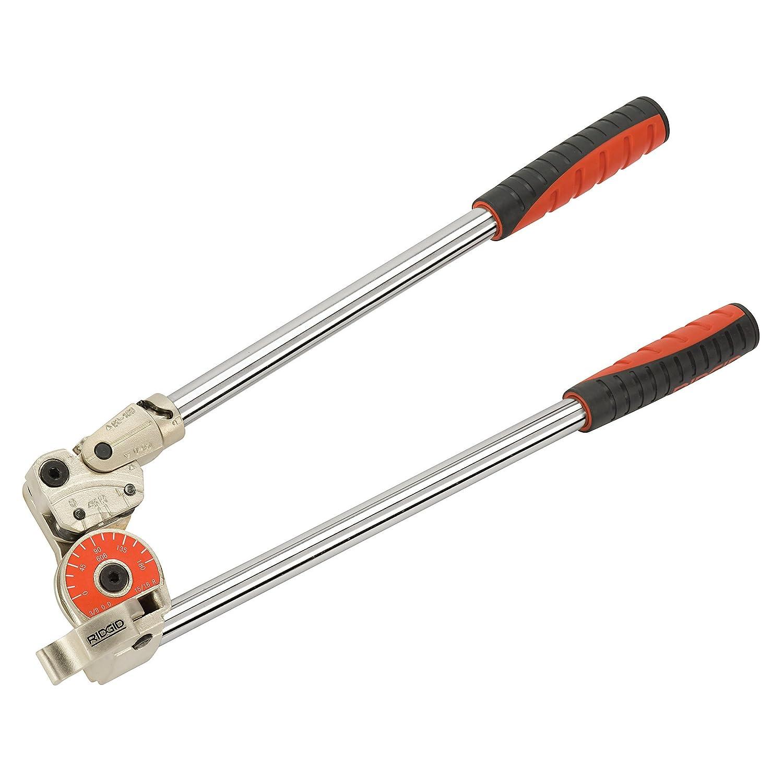 RIDGID 36132 Modelo 408 Dobladora para instrumentos Dobladora de tubos de 12 mm para curvas de hasta 180 grados Dobladora de tubos