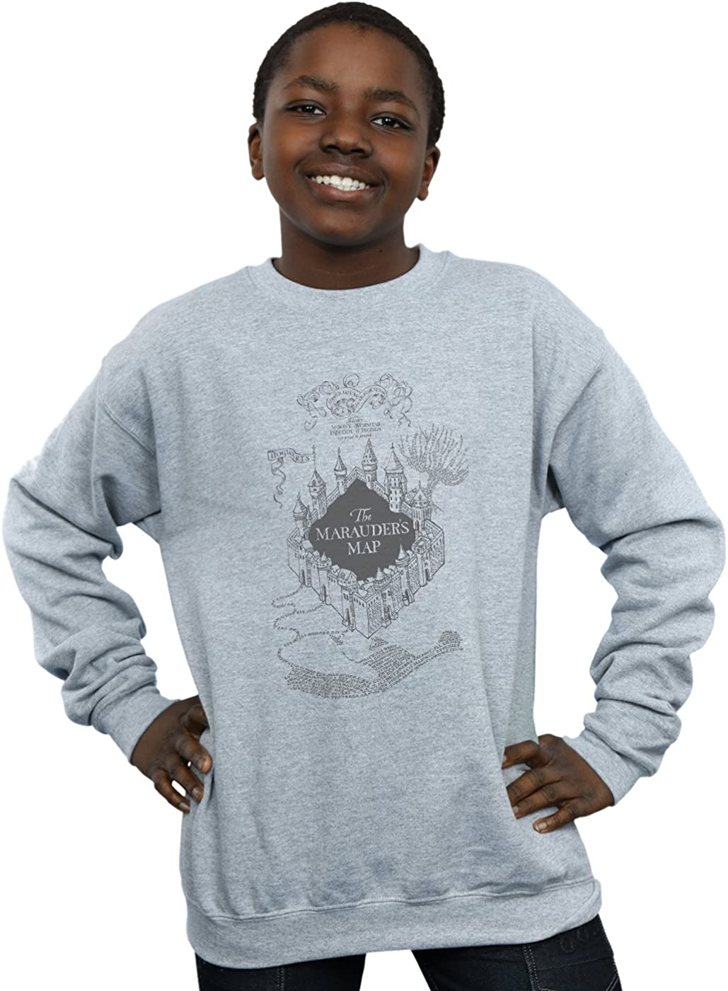 Harry Potter Boys The Marauders Map Sweatshirt