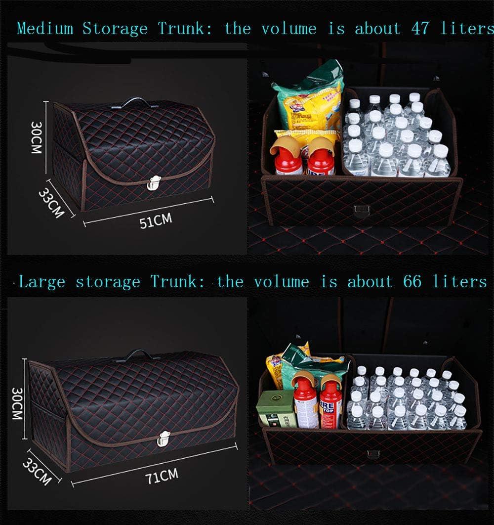 BingooPan Trunk Organizer For Car Organizers and Storage Trunk Organizer Collapsible