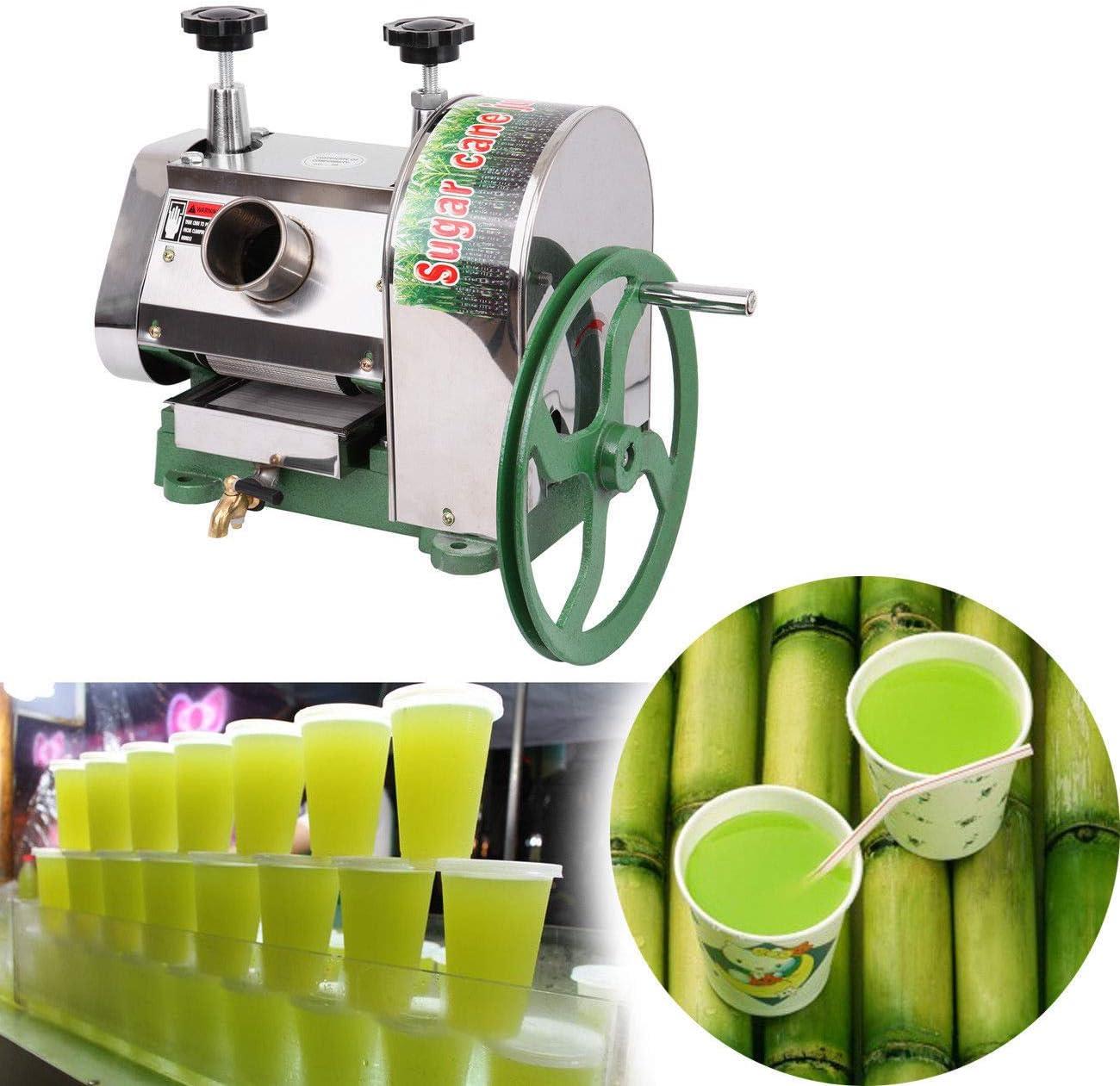 Sugarcane Juicer Sugar Cane Grind Press Machine Cast Iron Squeezer Juice Machine