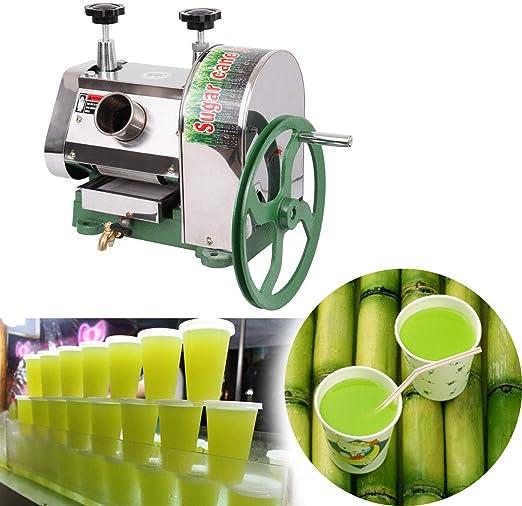 Sugarcane Juicer Sugar Cane Grind Press Machine Cast Iron Squeezer Handwheel