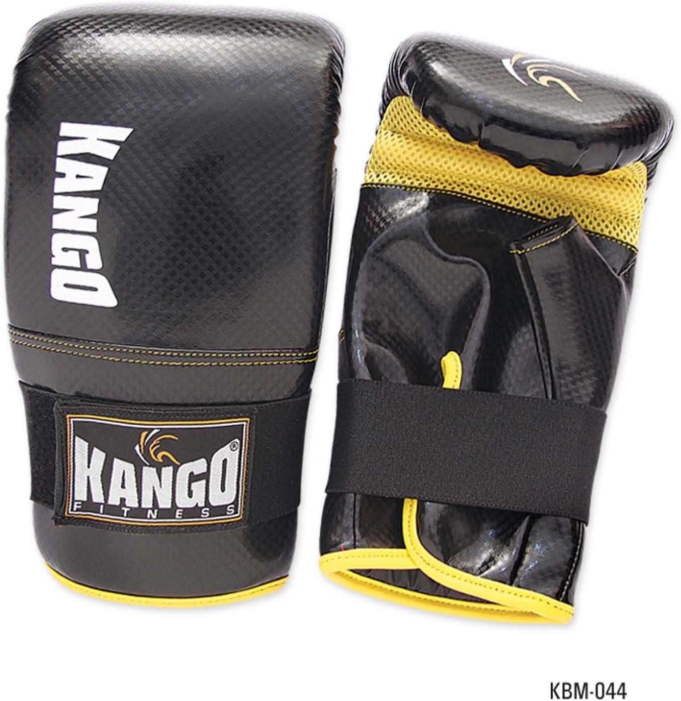 Kango Fitness Pro PU Boxing Gloves MMA Muay Thai Training Sparring Workout