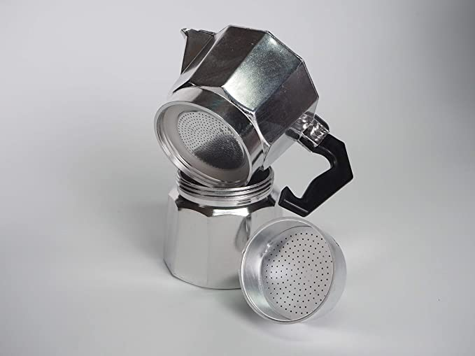 Sanfor Respuesto de Embudo Cafetera Italiana 3 Tazas | Aluminio ...