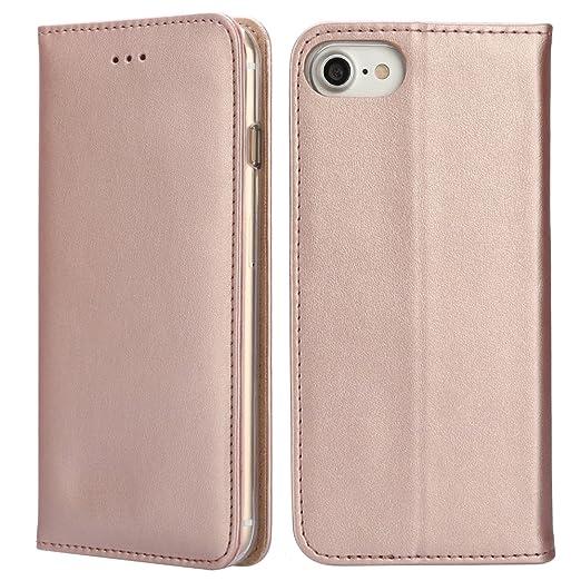 82 opinioni per IPHOX iPhone 7 Custodia Litchi Skin Pu Portafoglio Protettiva in pelle per