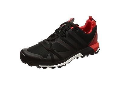 adidas Herren Terrex Agravic GTX Trail Traillaufschuhe schwarz/rot, 42 EU