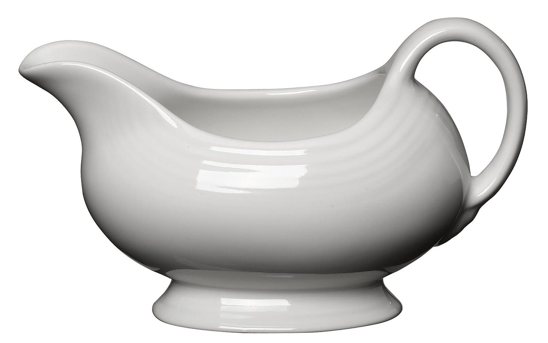Fiesta 18-1/2-Ounce Sauceboat, White by Homer Laughlin B000050I8O ホワイト