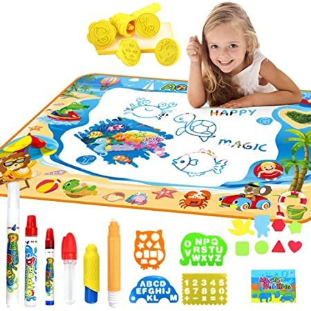 CUEYU Magic Mat - Juego de Mesa de Dibujo para niños - Colchoneta ...