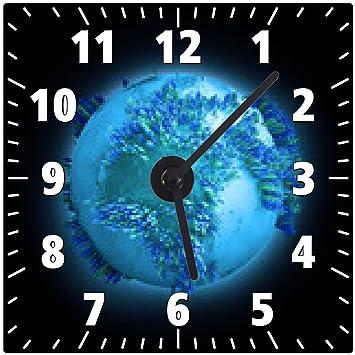 horloge mondiale population