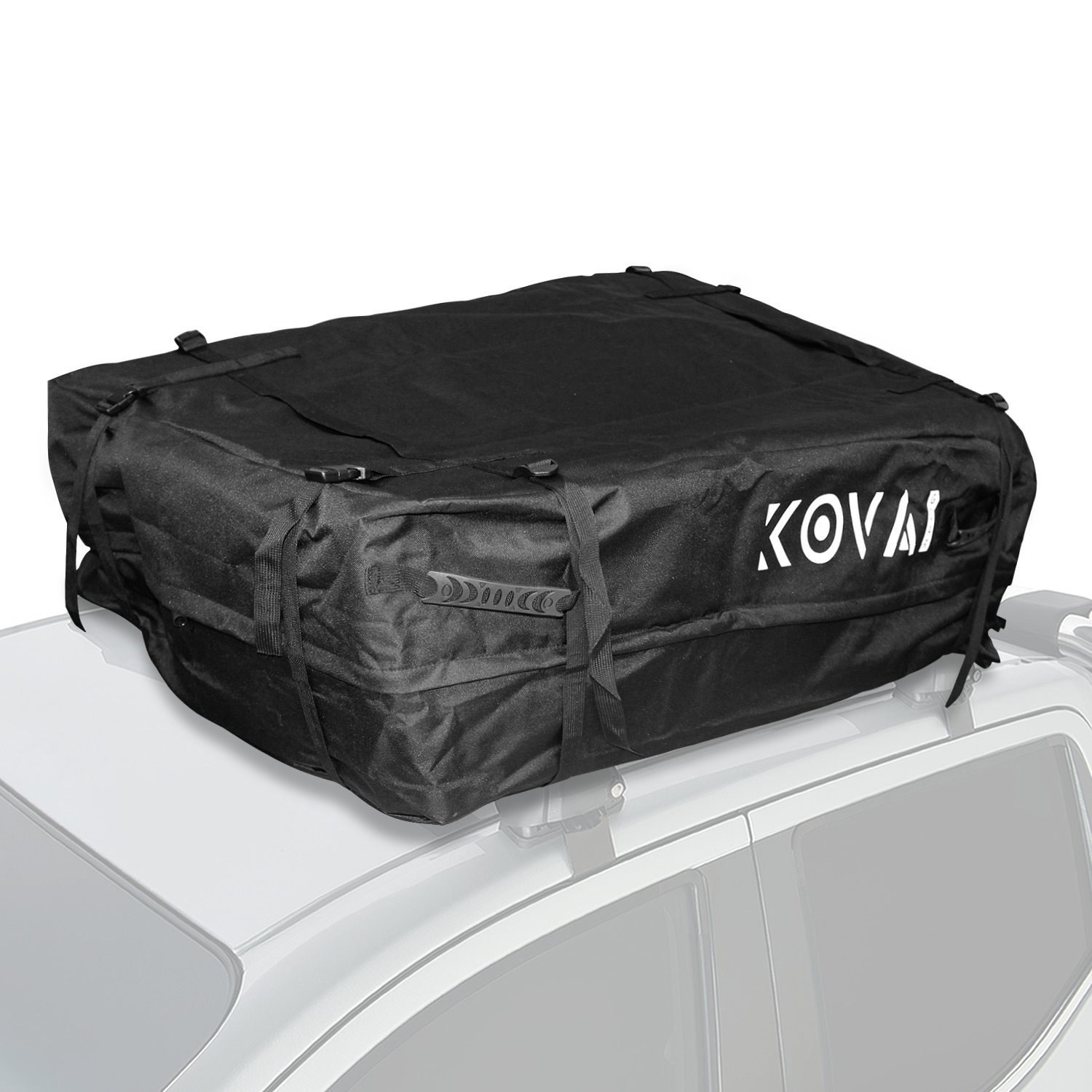 Kova Gear Rooftop Cargo Carrier Weatherproof Soft Bag (14.5 Cubic Ft Storage)