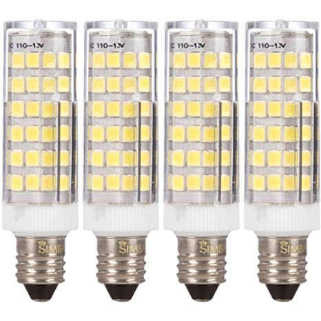 4 unidades] Simba iluminación TM LED E11 6 W 76smd2835 maíz ...