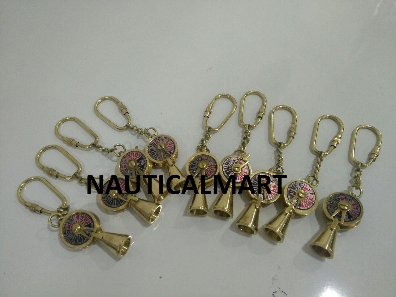 Brass Ship's Telegraph Key Chain By Nauticalmart NAUTICALMART INC